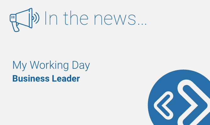 Business leader - working day - Martin Pownall